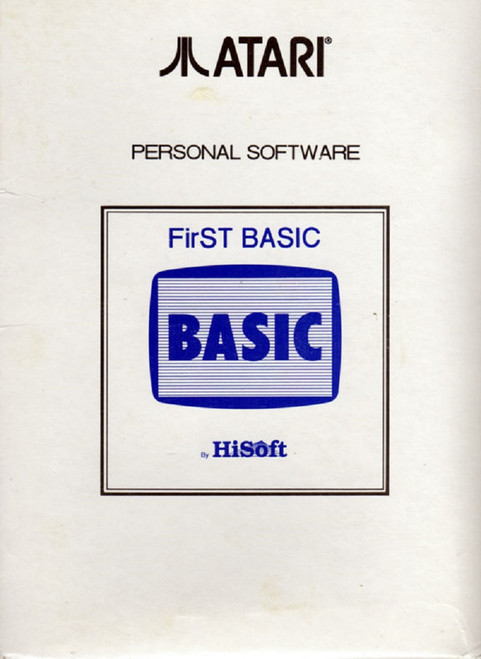 FirST Basic for Atari ST from HiSoft
