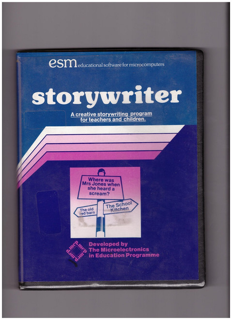 Storywriter on Disc for BBC Micro from ESM