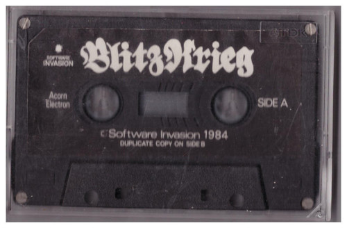 Blitzkrieg Tape Only for Acorn Electron from Software Invasion