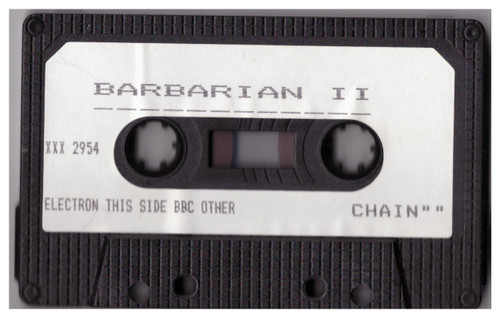 Barbarian II Tape Only for BBC Micro/Electron from Superior Software