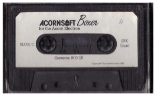 Boxer Tape Only for Acorn Electron from AcornSoft