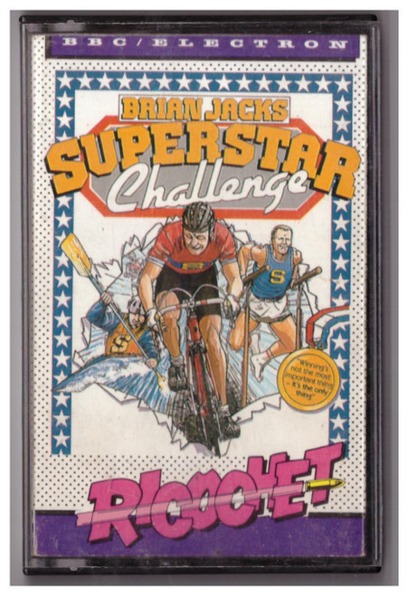 Brian Jacks Superstar Challenge for BBC Micro/Electron from Ricochet/Mastertronic