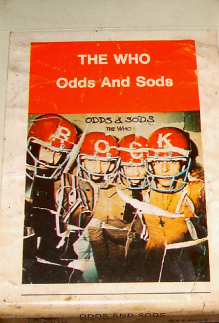 Odds And Sods 8-Track by The Who from Track Record