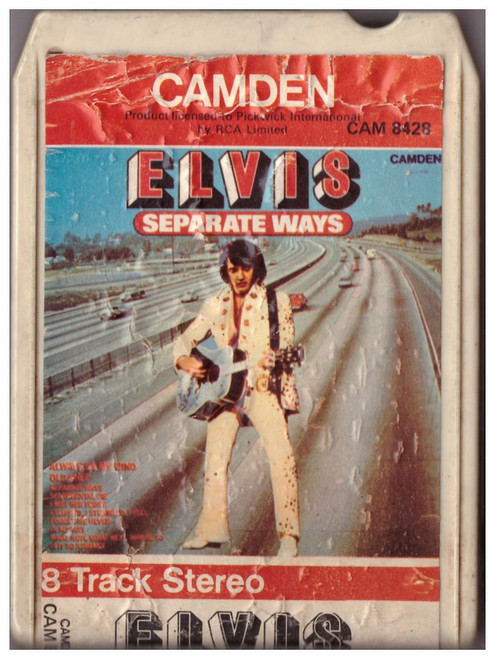 Seperate Ways 8-Track by Elvis Presley from Camden