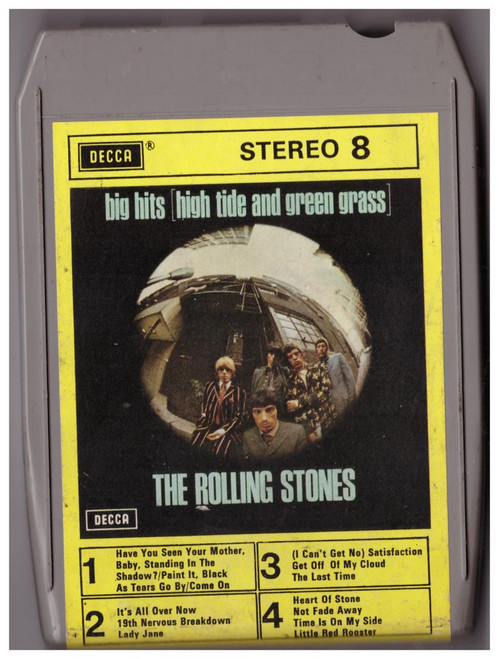 Big Hits (High Tide And Green Grass) 8-Track by The Rolling Stones from Decca