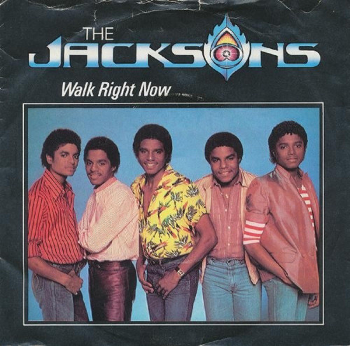 """7"""" 45RPM Walk Right Now/Your Ways by The Jacksons from Epic"""