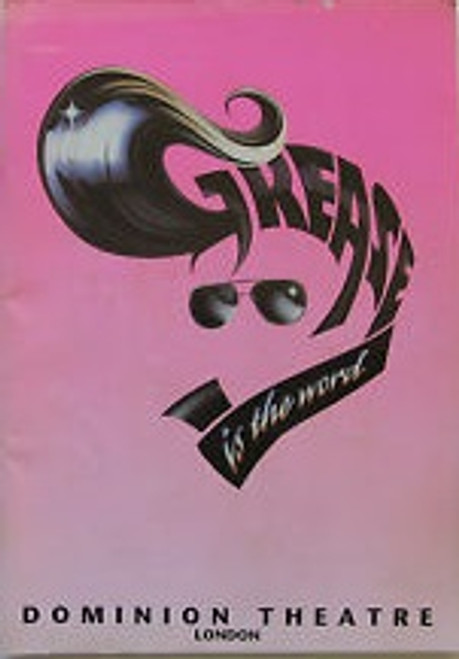Grease Musical Official Programme 1994