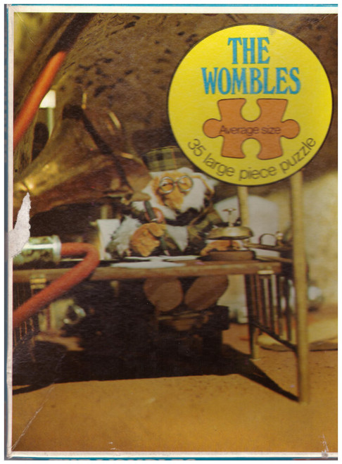 The Wombles 35 Large Piece Puzzle 1973 from Whitman Publishing Ltd