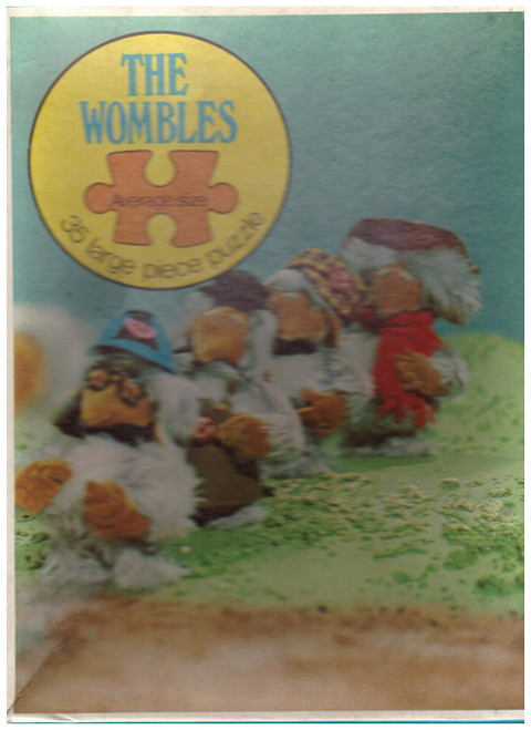 The Wombles 35 Large Piece Puzzle 1973 from Whitman Publishing Ltd-2