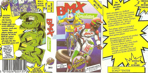 BMX Simulator for ZX Spectrum from CodeMasters