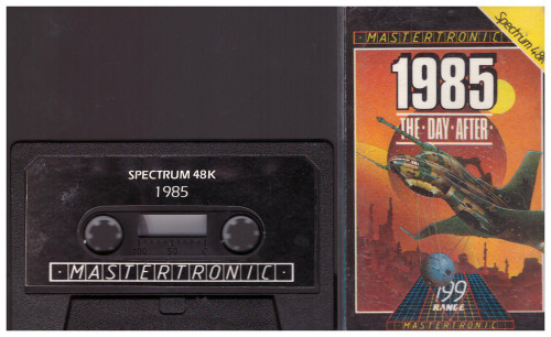 1985: The Day After for ZX Spectrum from Mastertronic