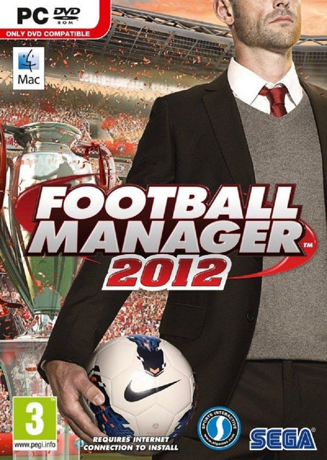 Football Manager 2012 for PC/Mac from Sega