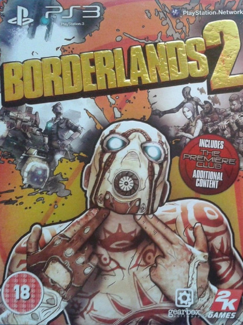 Borderlands 2 for Sony Playstation 3/PS3 from 2K Games