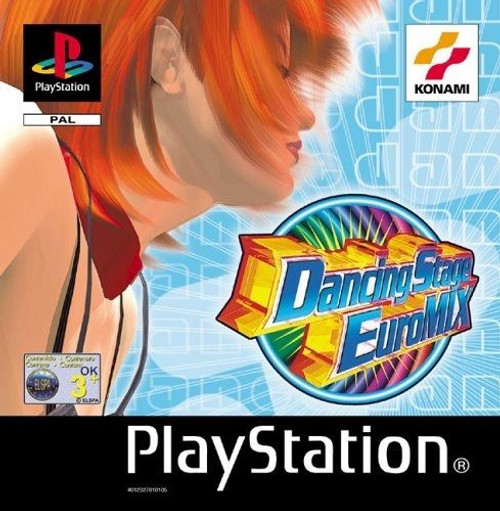 Dancing Stage Euromix for Sony Playstation/PS1/PSX from Konami