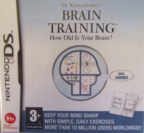 Brain Training for Nintendo DS from Nintendo