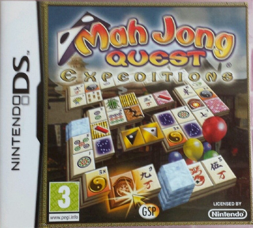 Mah Jong Quest: Expeditions for Nintendo DS from GSP