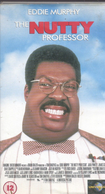 The Nutty Professor on VHS from Universal