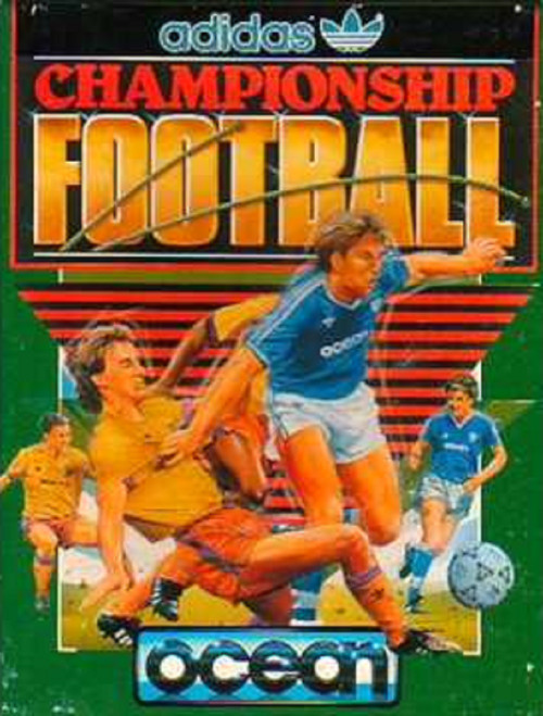 Adidas Championship Football for Commodore 64 from Ocean