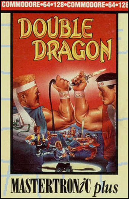 Double Dragon for Commodore 64 from Mastertronic Plus