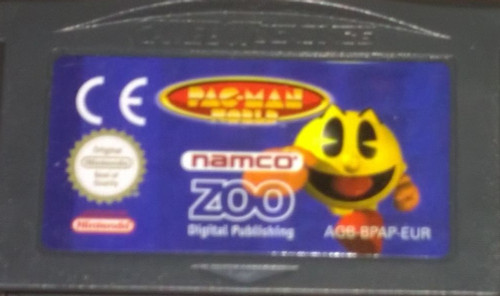 Pacman World for Nintendo Gameboy Advance from Namco/Zoo Digital