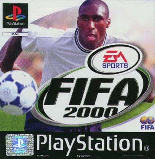 FIFA 2000 for Sony Playstation 1/PS1/PSX from EA Sports