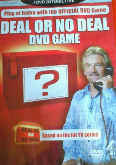 Deal Or No Deal Interactive DVD Game from Channel 4