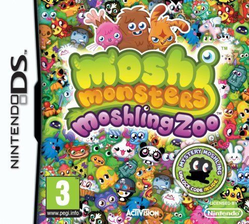 Moshi Monsters: Moshling Zoo for Nintendo DS from Activision
