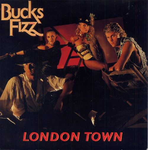 "7"" 45RPM London Town/Identity by Bucks Fizz from RCA"