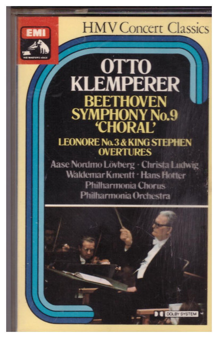 Beethoven Symphony No. 9 'Choral' by Otto Klemperer from EMI