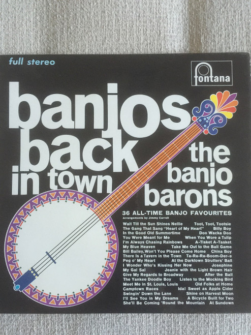 Banjos Back In Town by The Banjo Barons from Fontana