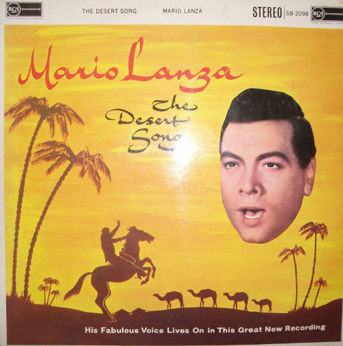 The Desert Song by Mario Lanza from RCA Red Seal