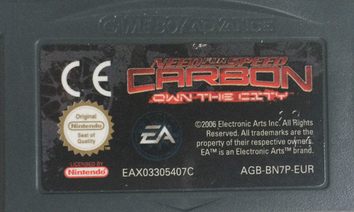 Need For Speed Carbon: Own The City for Nintendo Gameboy Advance/GBA from EA (AGB-8N7P-EUR)