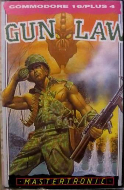 Gun Law for Commodore 16/Plus 4 from Mastertronic