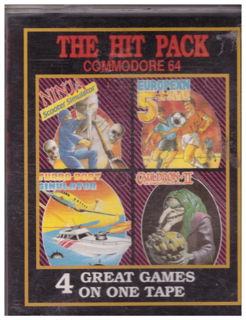 The Hit Pack for Commodore 64 from Paxman Promotions