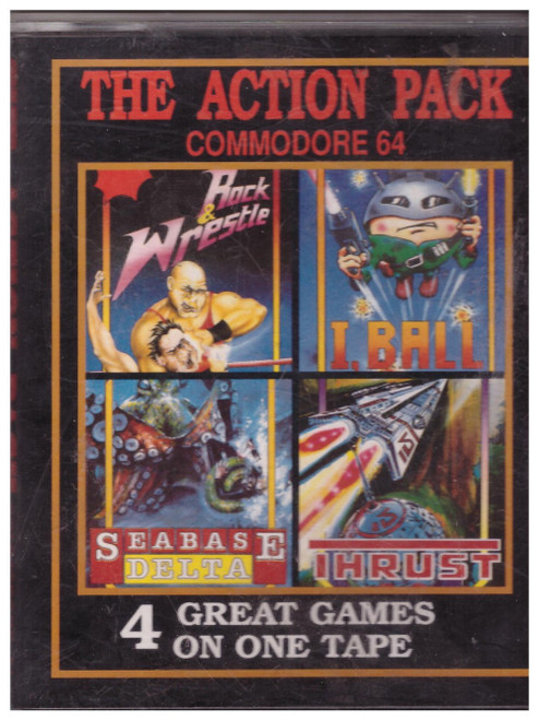 The Action Pack for Commodore 64 from Paxman Promotions