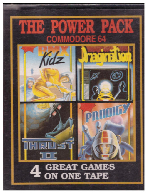 The Power Pack for Commodore 64 from Paxman Promotions