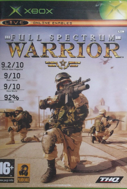 Full Spectrum Warrior PAL for Microsoft XBOX from THQ