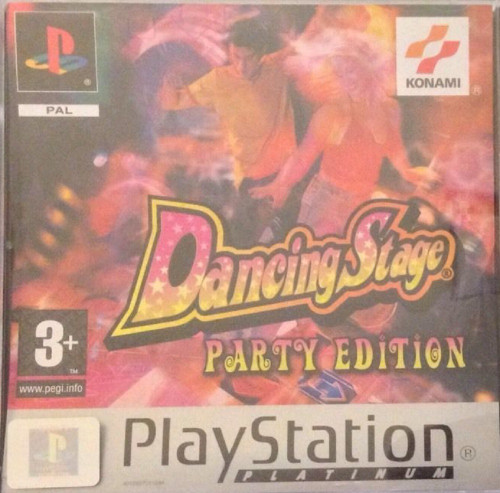Dancing Stage: Party Edition PAL for Sony Playstation 1/PS1/PSX from Konami (SLES 03882)