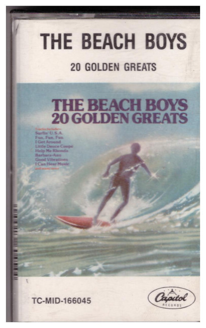 20 Golden Greats by The Beach Boys from Capitol Records (TC-MID-166045)