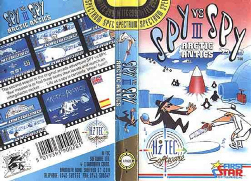 Spy Vs Spy III: Artic Antics for ZX Spectrum from Hi-Tec Software