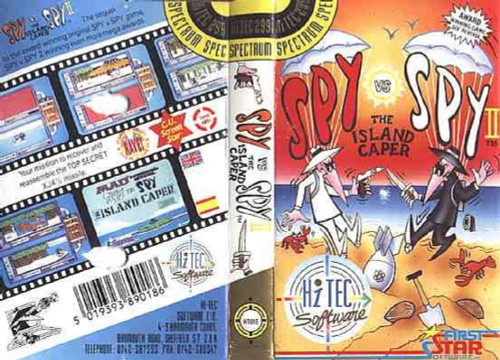 Spy Vs Spy II: The Island Caper for ZX Spectrum from Hi-Tec Software
