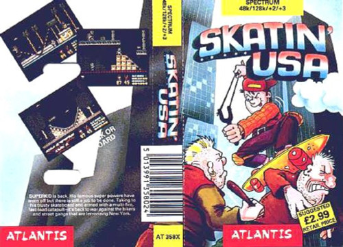 Skatin' USA for ZX Spectrum from Atlantis