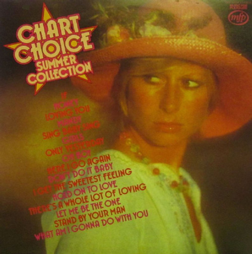 Chart Choice Summer Collection from Music For Pleasure (MFP 50208)