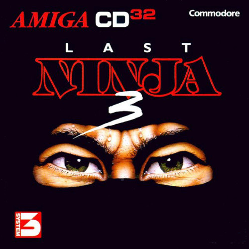 Last Ninja 3 for Commodore Amiga CD32 from System 3