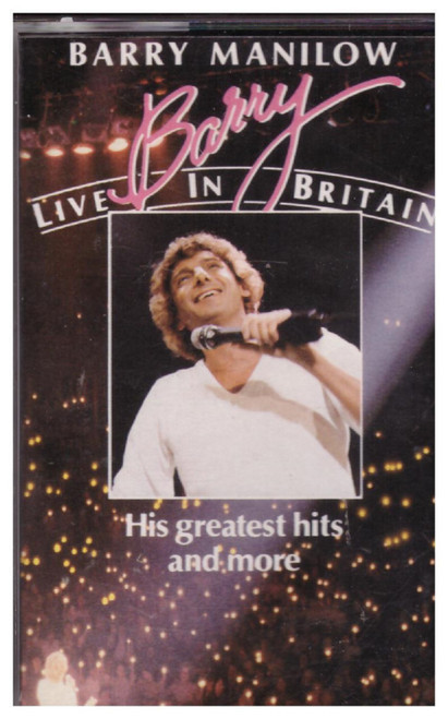Barry Manilow - Live In Britain from Arista (ARTVC 4)