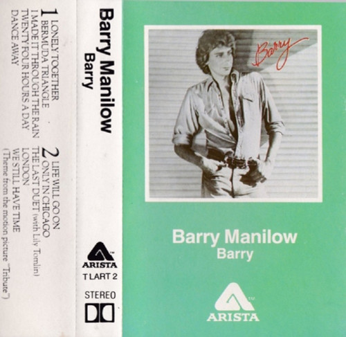 Barry by Barry Manilow from Arista (CLART 2)
