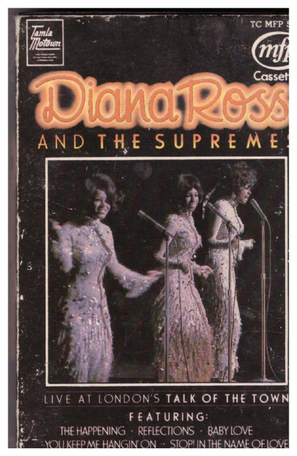 Diana Ross And The Supremes Live At London's Talk Of The Town from Tamla Motown/Music For Pleasure (TC MFP 50447)
