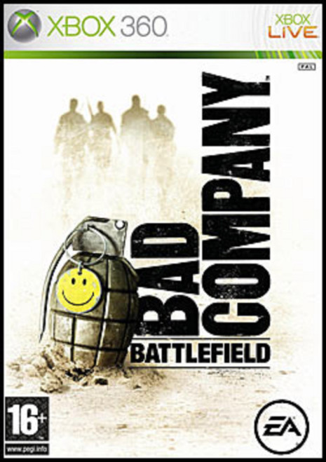 Battlefield: Bad Company PAL for Microsoft Xbox 360 frrom Electronic Arts (EA)