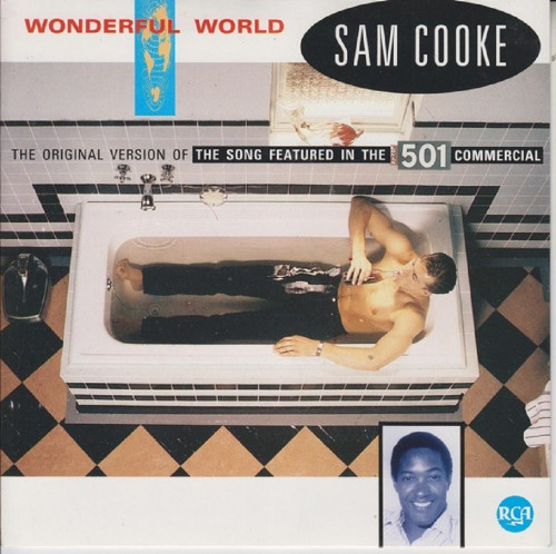 """7"""" 45RPM Wonderful World/Chain Gang from Sam Cooke from RCA (PB 49871)"""