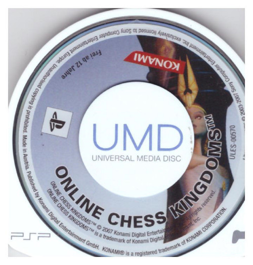 Online Chess Kingdoms for Sony Playstation Portable/PSP from Konami (ULES-00570)
